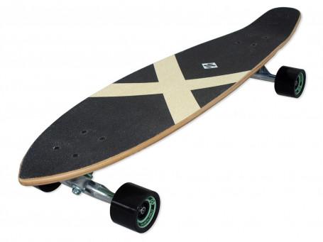 """Longboard Kicktail 36"""" - Azure"""
