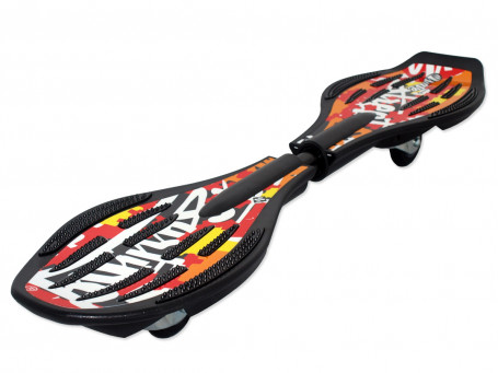 Waveboard Streetsurfing The Wave - Splash red/orange