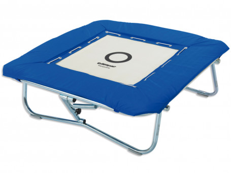 Minitramp met rubberkabels 125 x 125 cm
