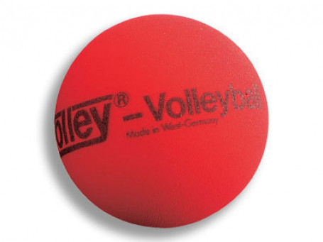 Volleybal foam Volley® SOFT Ø 21 cm, rood, 310 gram