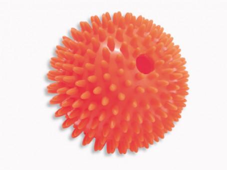 Egel-rinkelbal rood Ø 10 cm
