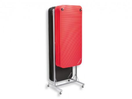 Mattenwagen voor matten met ophangogen