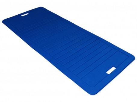 Fitnessmat opvouwbaar 140 x 60 cm 8 mm dik blauw