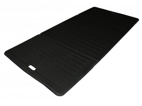 Fitnessmat opvouwbaar 190 x 90 cm 15 mm dik zwart