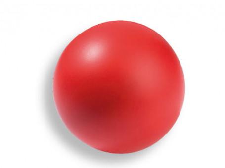 Softbal PU-foam Ø 9 cm, 40 gram rood