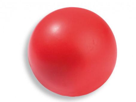 Handbal-mini PU-foam Ø 16 cm, 160 gram rood