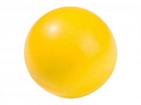 Volleybal PU-foam Ø 20 cm, 305 gram geel