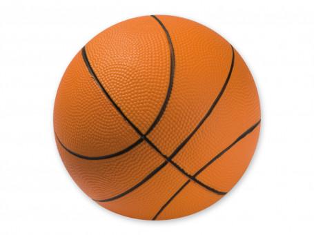 Basketbal PU-foam Ø 20 cm, 290 gram oranje/zwart