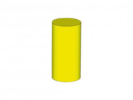 Cilinder 60 x Ø 30 cm