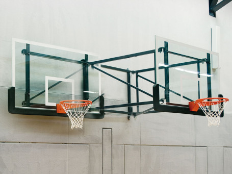 Basketbal-wandinstallatie overhang 225 cm zwenkbaar