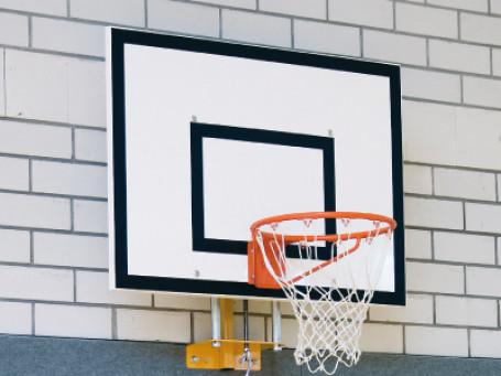 Wandframe voor basketbalbord 120 X 90 cm vast