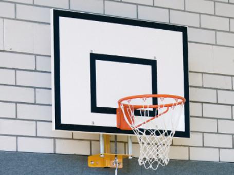 Wandframe voor basketbalbord 120 x 90 cm in hoogte verstelbaar