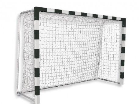 Handbaldoel BASIC 300x200x125 cm zwart/wit