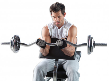Biceps Curlpult Kettler®  voor DELTA XL,  PRIMUS