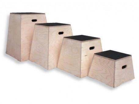 PlyoBoxen van hout