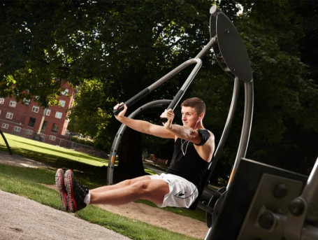 Chest Press Outdoor Fitness