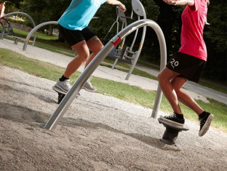 Bouncing Station Outdoor Fitness