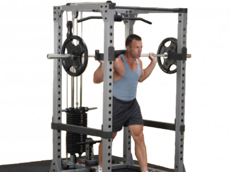 Power Rack met Pulley