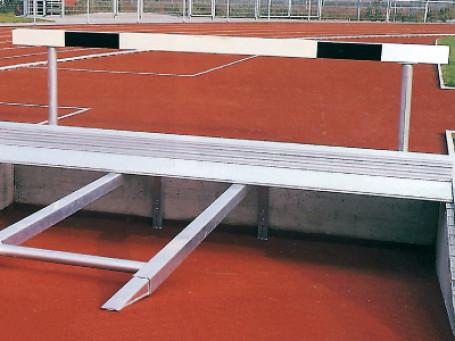Extra aluminium-onderconstructie