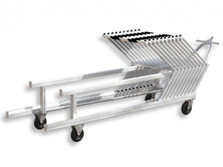 Hordentransportwagen aluminium