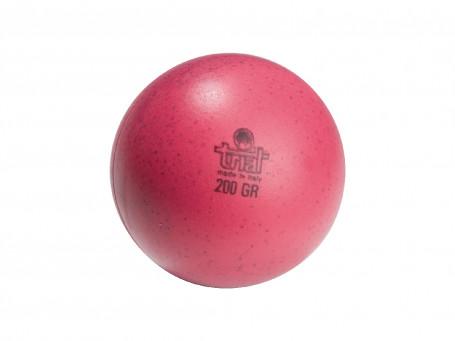 Werp- en slagbal van kunststof 200 gram, Ø 8,5 cm