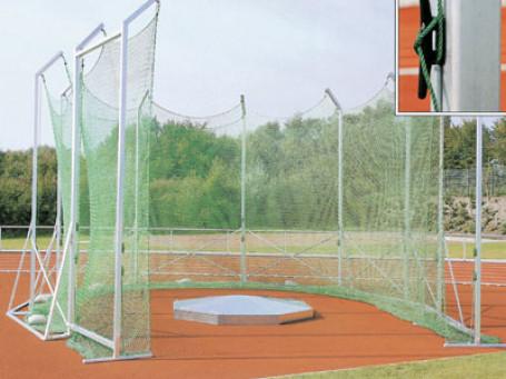 Net voor discus- en kogelslingerkooi 4,5 - 5 meter