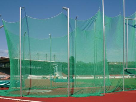 Net voor discuskooi 4 meter