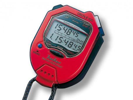Stopwatch HANHART Delta E 100 rood