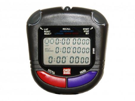 Stopwatch DIGI PC 91 multifunctioneel met nachtlicht