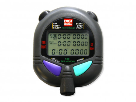 Stopwatch DIGI PC 110 multifunctioneel 500 memory