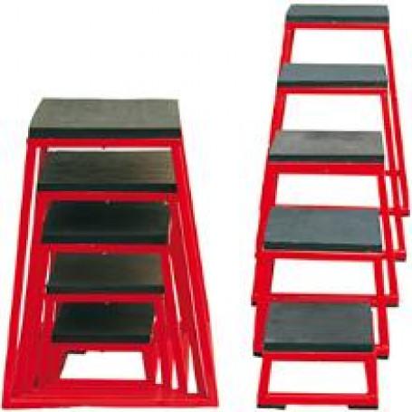Plyometrische platforms set van 5 stuks