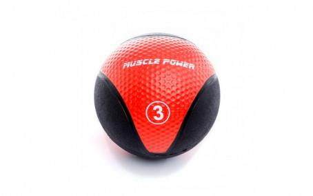 Medicijn Ball 3 kg Rood
