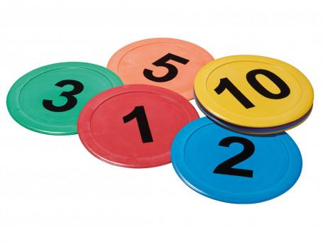 Bodemmarkering Cijfers, 10-delig