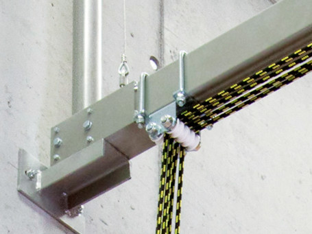 Beugelschroef voor draagbalk 100 x 80 mm