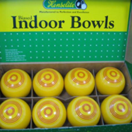 Koersballen set van 8 stuks 4 x geel 4 x zwart