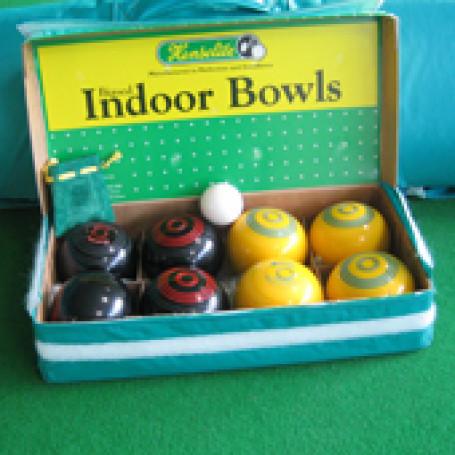 Koersballen set van 8 stuks incl. meetlint en Jack