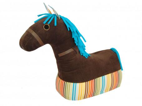 Motoriekpaard met stoffen bekleding