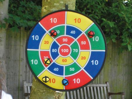 Ballen los voor dartbord Safety 9 stuks