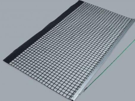 Sleepnet aluminium enkel