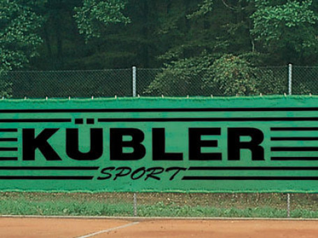 Tennisbaandoek 12 x 2 meter donkergroen
