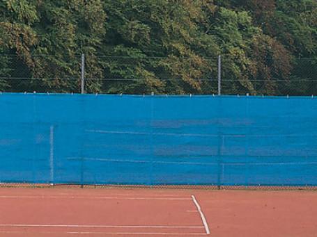 Tennisbaandoek 12 x 2 meter blauw