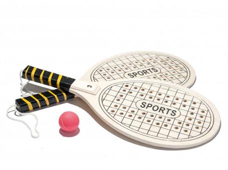 Speckbrett-racket-set
