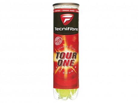 Tennisballen Tecnifibre® Tour-One 4 stuks