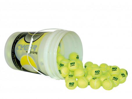 Tennisballen TYGER Trainer Pro 96 stuks