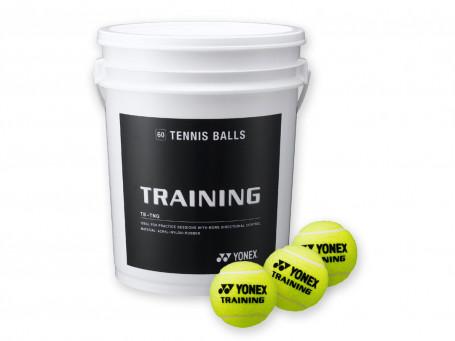 Tennisballen YONEX Training 60 stuks