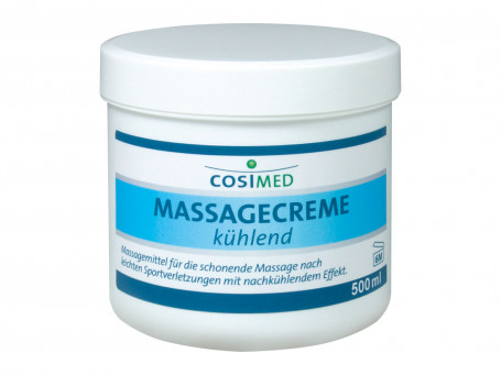 Massagecrème koelend 500 ml