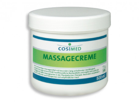 Massagecrème 500 ml