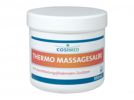 Massagezalf Thermo 500 ml