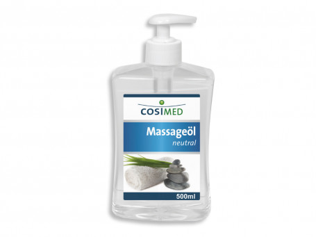 Massage-olie Neutraal 500 ml