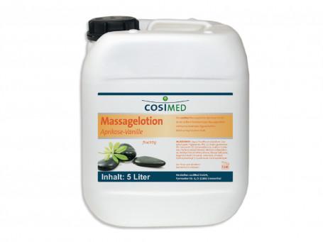 Massagelotion abrikoos-vanille 5 liter